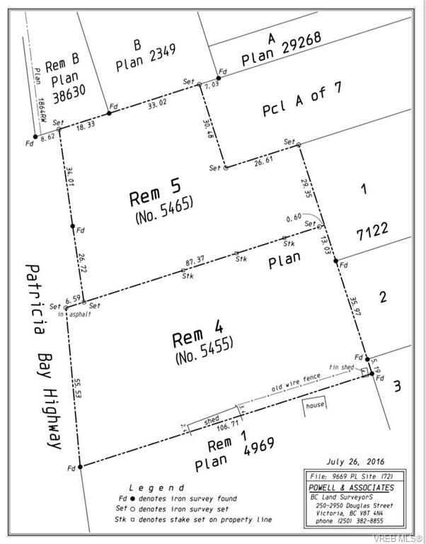5455 Pat Bay Hwy - SE Cordova Bay Vacant Land for sale(374646) #3